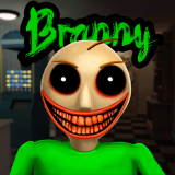 Creepy Baldi Branny Neighbor Icon