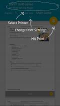 HP Print Service Plugin Screenshot
