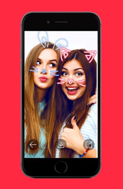 Filters For Snapchat screenshot 1