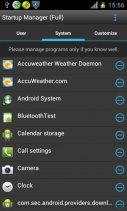 Startup Manager (Free) Screenshot