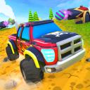 Dirt track monster truck: Driving legends