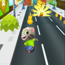 Talking Toy: Gold Run 3D Game
