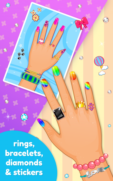 Nail art salon game download apk for android aptoide for A list nail salon game