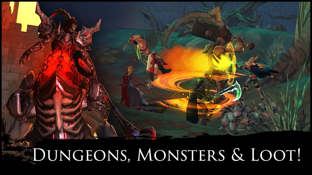 AdventureQuest 3D MMO RPG screenshot 2