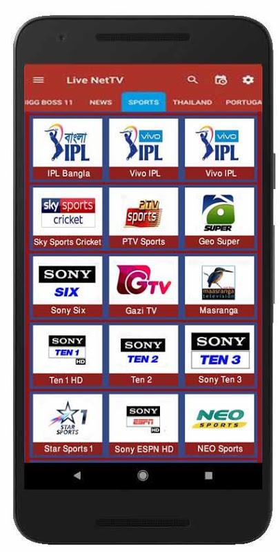 BD LIVE NET TV 1 1 Download APK para Android | Aptoide