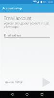 Moto Email Screen