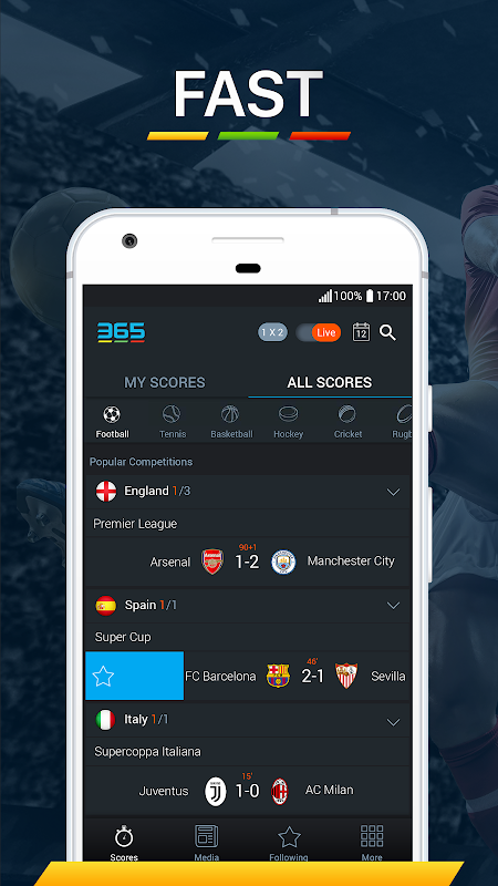 365Scores - Live Score screenshot 5
