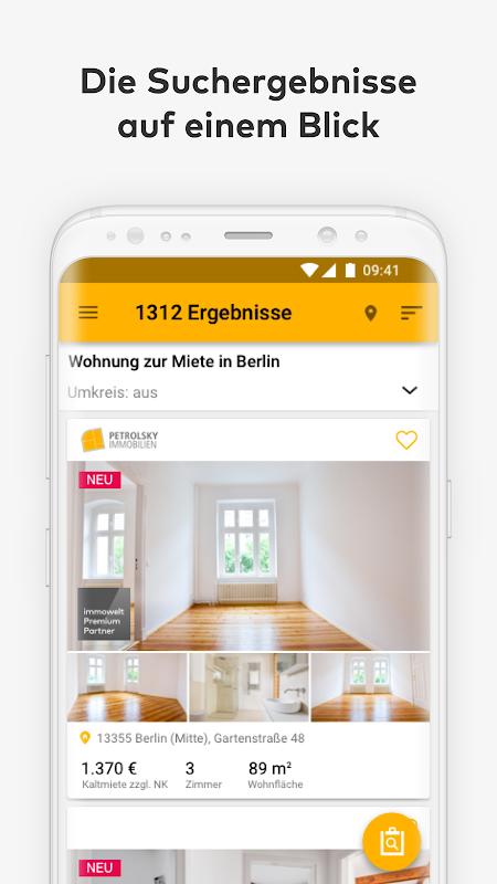 Immowelt - Immobilien, Wohnungen & Häuser screenshot 2