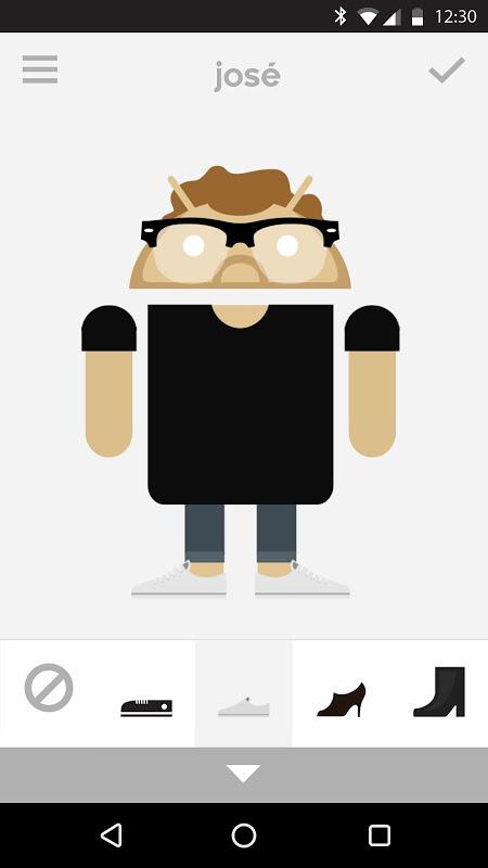 Androidify screenshot 2