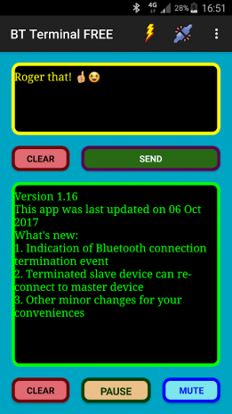 Serial Terminal via BT (FREE) 17 Download APK for Android