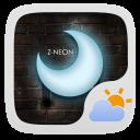 Z-Neon Theme GO Weather EX