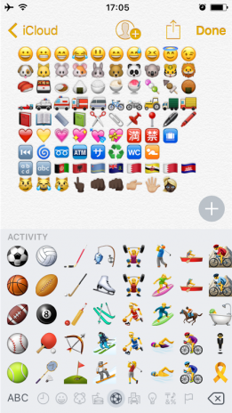 iphone 7 emoji keyboard capture dcran - Emoji Iphone Gratuit