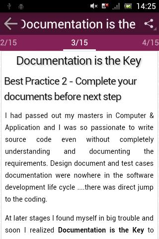 Developers Best Practices screenshot 3