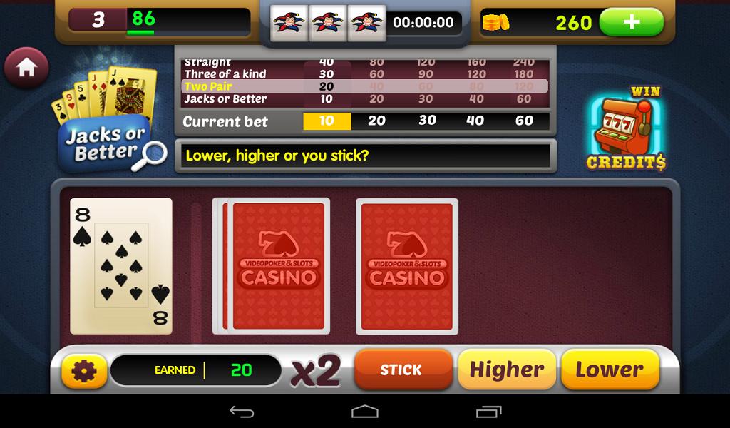 free slots video poker online