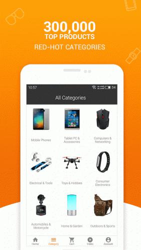 Compras Online da Gearbest screenshot 3