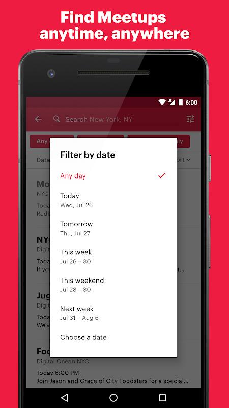 Meetup: Find events near you screenshot 2