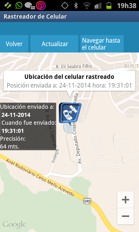 rastreador de celular apk