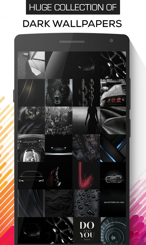 Blacker : Dark & AMOLED Wallpapers (HD,4K) screenshot 1