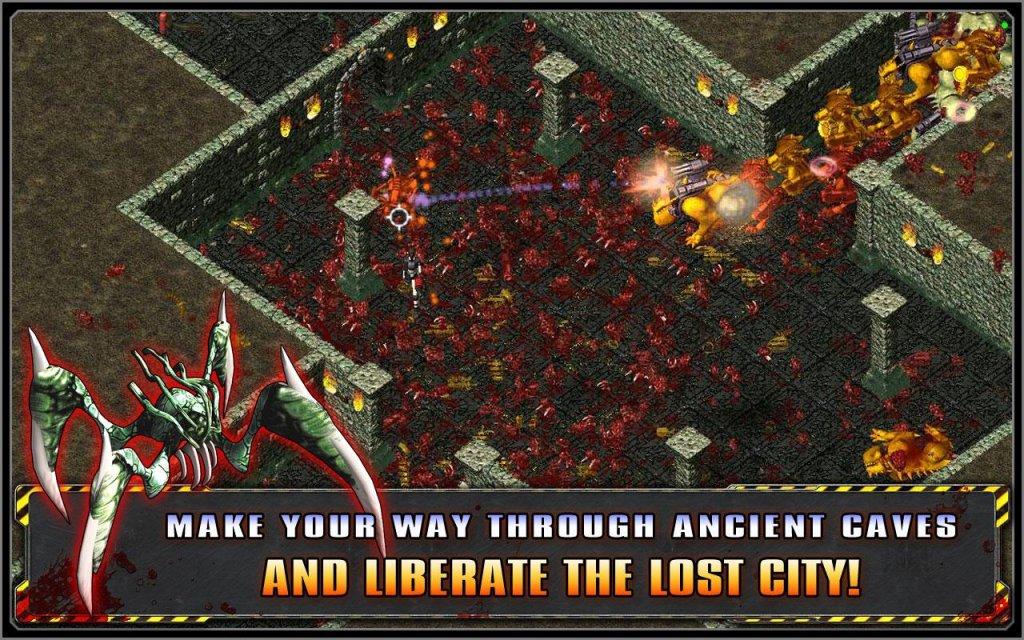 Alien shooter потерянный город