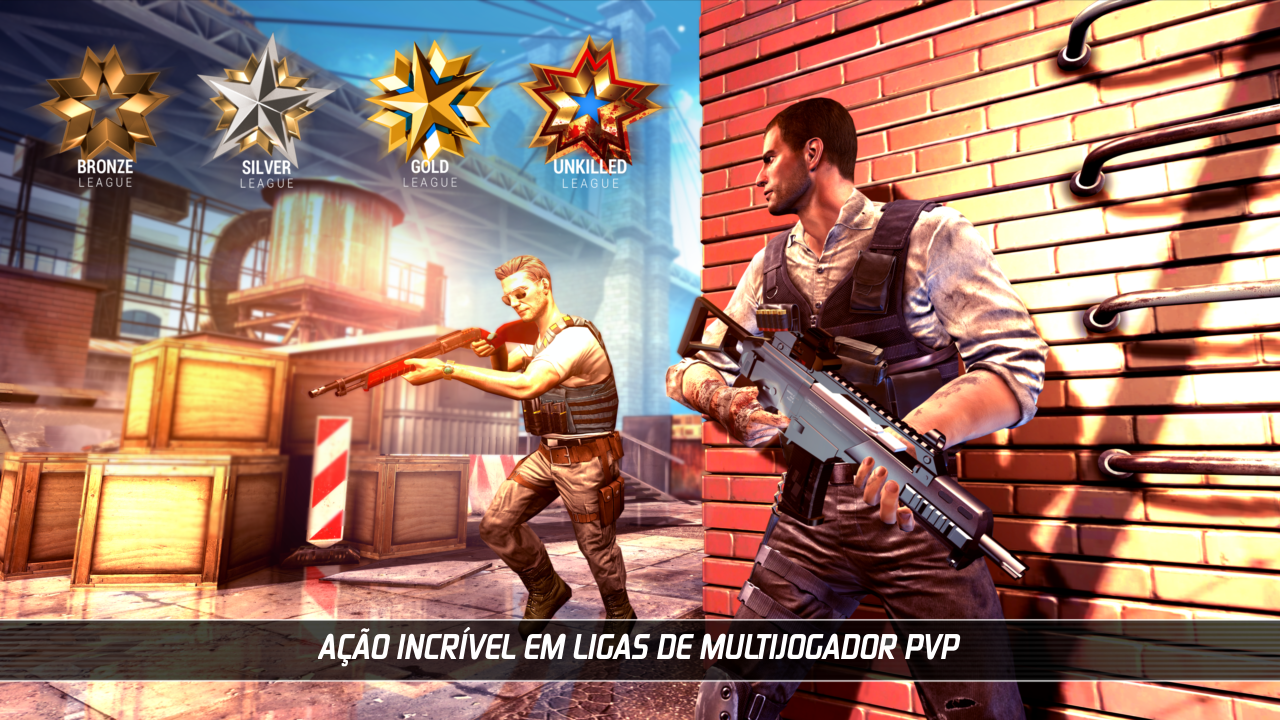 UNKILLED - Jogo de tiro multiplayer com zumbis screenshot 2