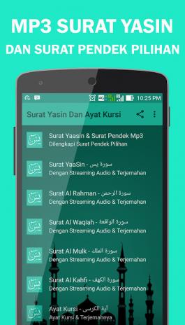 Surat Yasin Dan Ayat Kursi 2 0 Android - Aptoide için APK indir