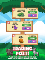 Idle Zoo Tycoon: Tap, Build & Upgrade a Custom Zoo Screen