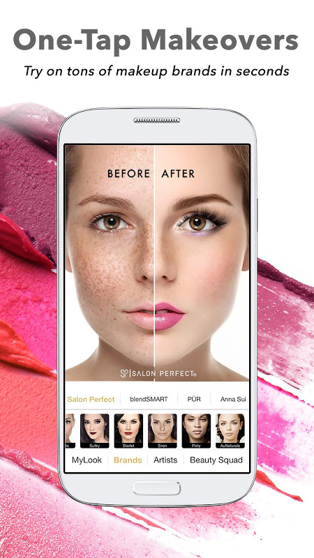 Perfect365: One-Tap Makeover screenshot 2