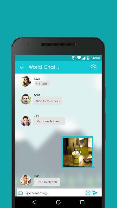 Dating chat app for android