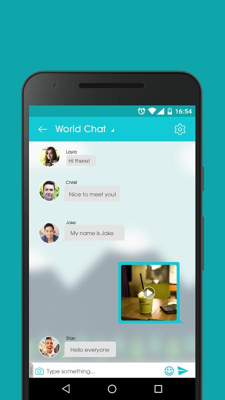 Mingle chat app