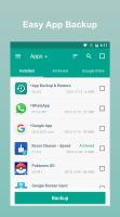 Backup & Restore Screen