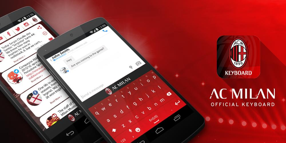 AC Milan Official Keyboard | Download APK for Android - Aptoide
