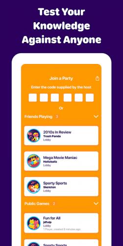 Sporcle Party: Social Trivia screenshot 1