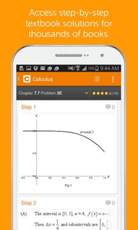 Chegg Study 5 4 1 ดาวน์โหลด APKสำหรับแอนดรอยด์- Aptoide