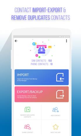 Import Export Contacts Excel Apk