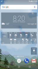 awesome weather yowindow live wallpaper widgets screenshot 5