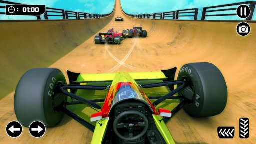 Mega Ramp Formula Car Stunts - New Racing Games screenshot 2