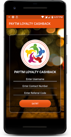 Paytm Loyalty Cashback 2 0 Download APK for Android - Aptoide