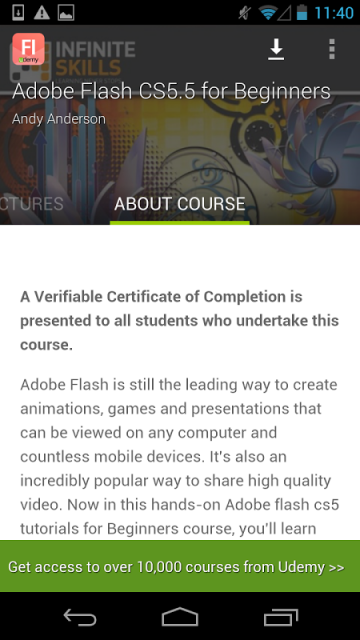 Flash CS5.5 Tutorial | Download APK for Android - Aptoide