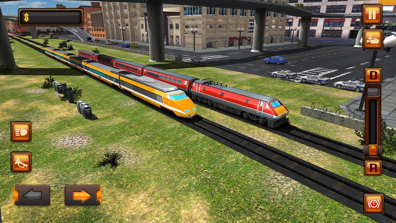 Jogos de simulador de trem: jogos de trem screenshot 1