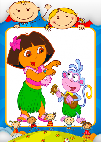 Coloring dora Games 1.0.5 Download APK for Android - Aptoide
