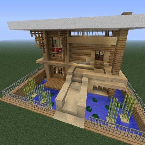 Moderne Minecraft Häuser Laden Sie APK Für Android Herunter - Minecraft moderne hauser