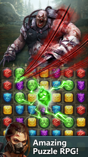 Zombie & Puzzle screenshot 3