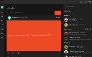 Xbox Screen