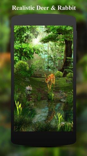 Télécharger APK Android 3D Deer-Nature