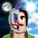 Scary Clown Man Neighbor. Escape Española