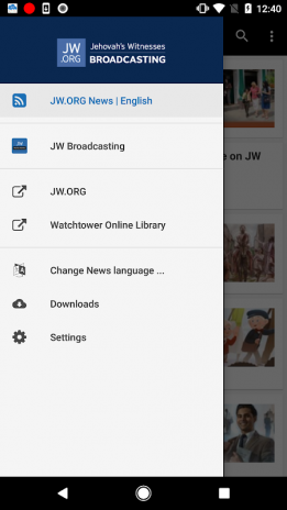 JW Broadcasting & News 2 1 Download APK for Android - Aptoide