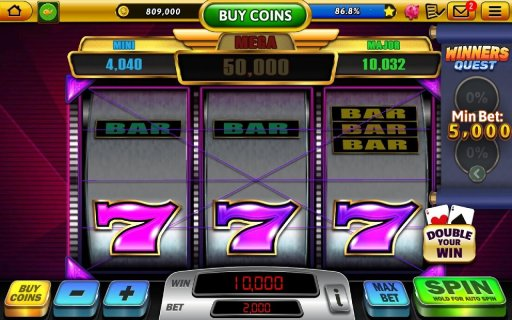 Win Vegas Casino - 777 Slots & Pub Fruit Machines screenshot 7