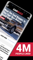 CarBuzz - Daily Car News Screen