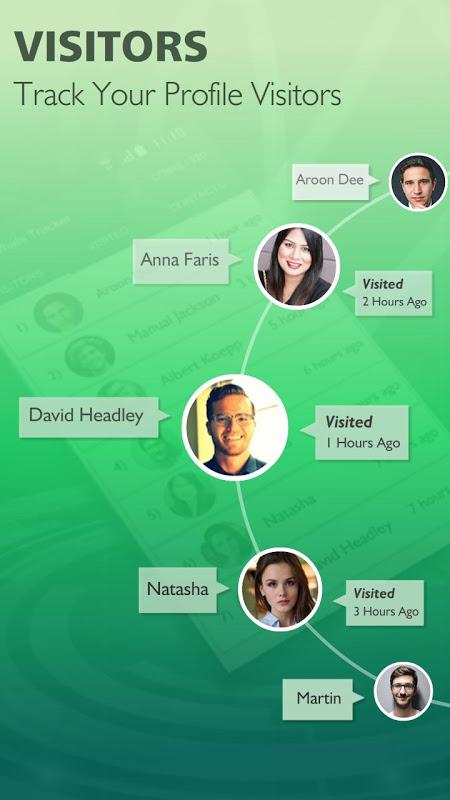 Who Visit My Watsapp Profile? Whats Tracker Friend screenshot 1