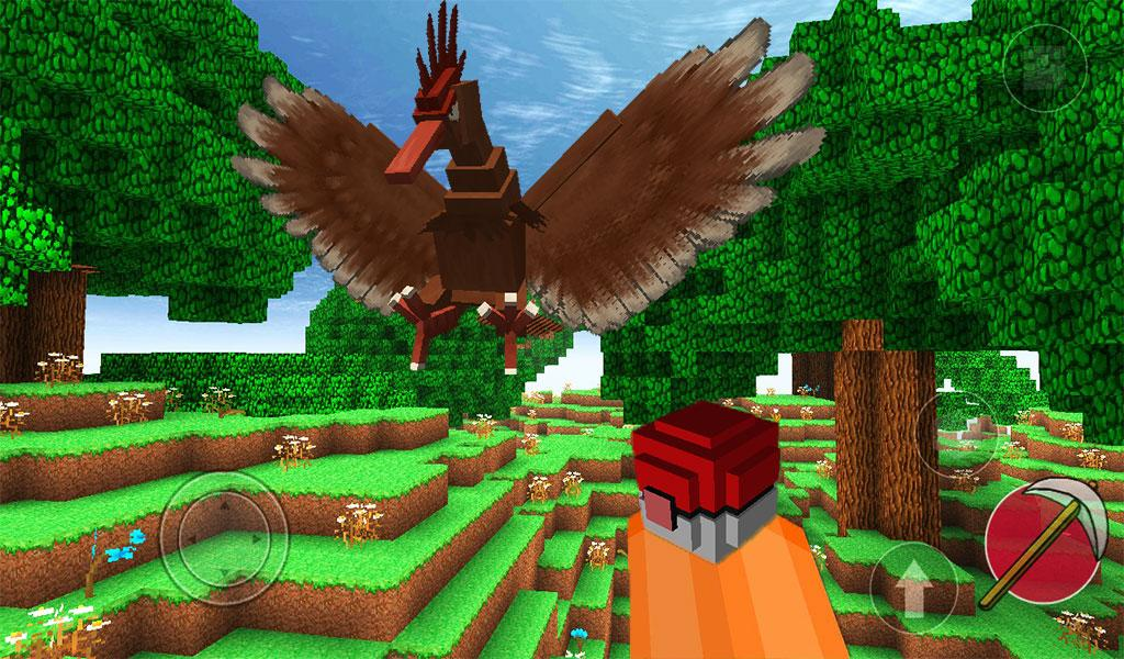 Pixelmon craft III: Open world screenshot 2